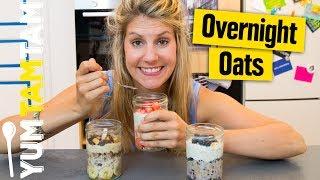 Overnight Oats // schnelles Frühstück zum Vorbereiten // #yumtamtam