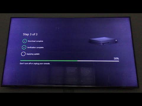 Xbox One X Setup 4K HDR