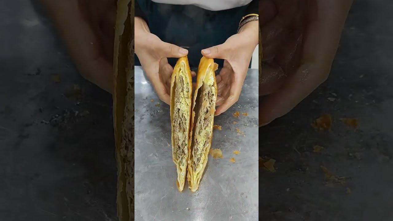 Asian street food 烧饼