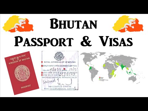 Bhutan - Passport & Visas