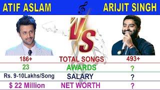 Atif Aslam Vs Arijit Singh Comparison 2020- Simply Compare | Who is Best Singer