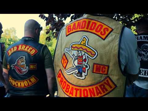 RED AND GOLD FAMILY - MEMORY RUN - BANDIDOS MC STOCKHOLM