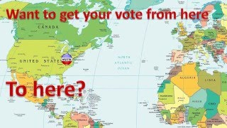 How to Register to Vote Abroad