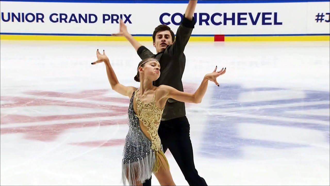 Екатерина Каташинская - Александр Васькович. Гран-при по фигурному  катанию