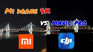 DJI Mavic Pro vs. Mi Drone 4K