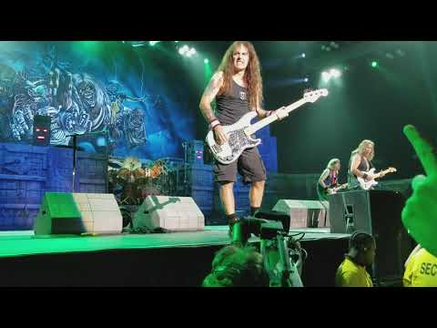 Iron Maiden - Wasted Years; Budweiser Stage; Toronto, ON; 7-15-2017