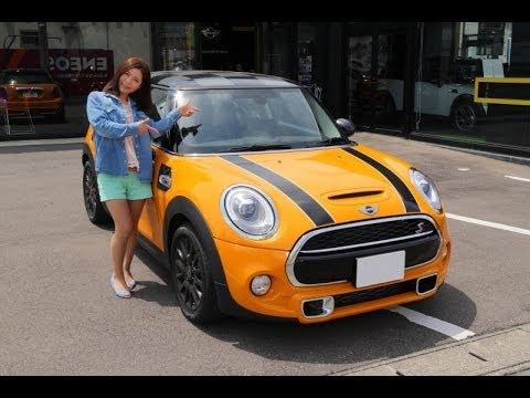 2014年4月に発売された、新型 MINI COOPER Sを試乗しました。 ボディカラーは、ボルカニック・オレンジ・ソリッド、オプションのボンネット・ストラ...