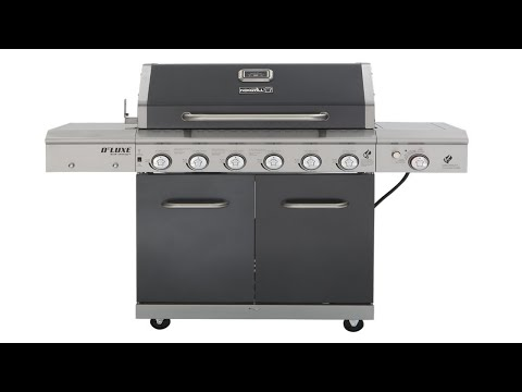 Review Nexgrill Deluxe 6 Burner Gas Grill Pigskin Barbeque