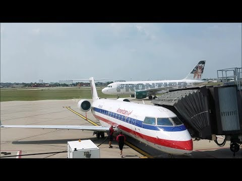 Taxi, Takeoff And Landing From Sioux Falls, SD (FSD, Sioux Falls Regional Airport)