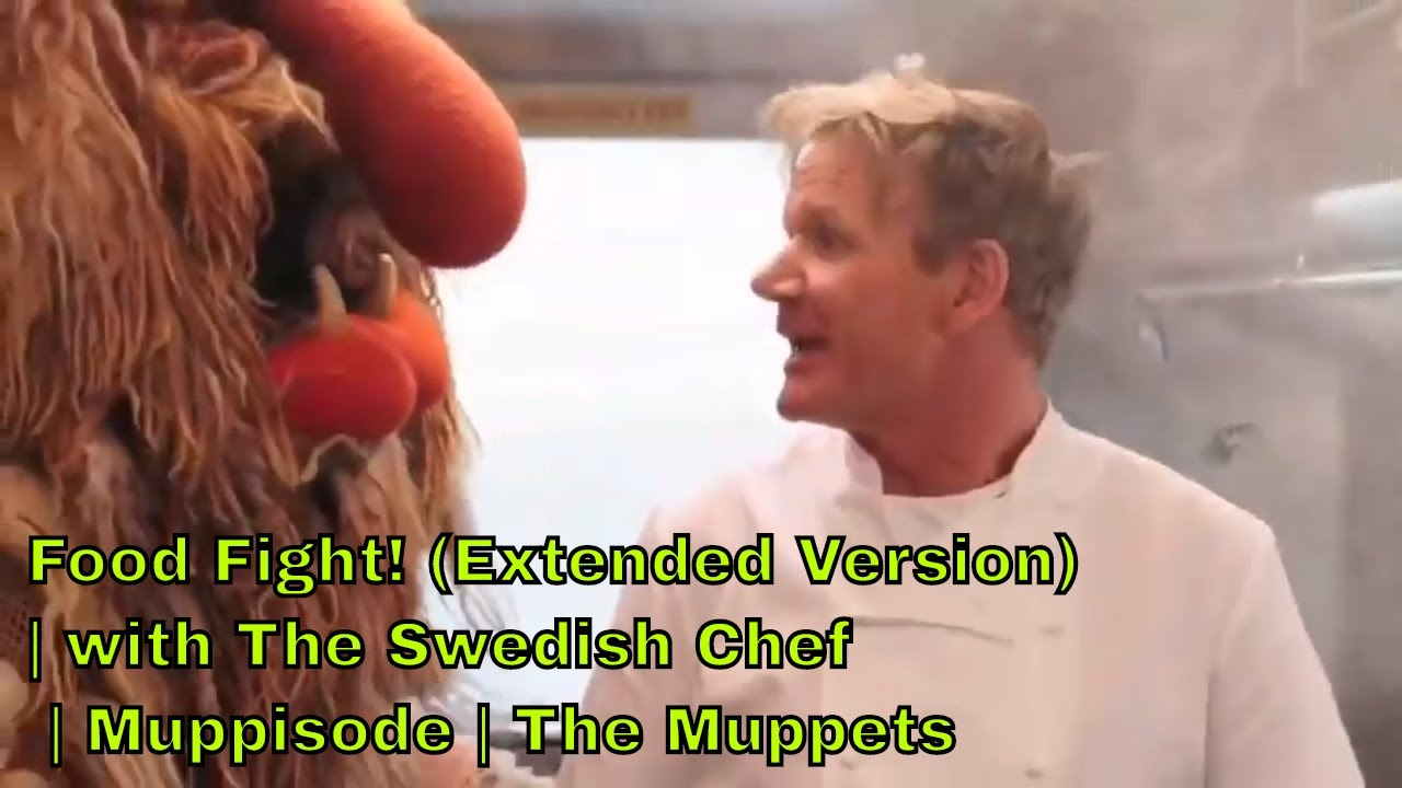 Download Food Fight! (Extended Version) | with The Swedish Chef | Muppisode | The Muppets