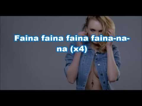 Akcent feat Liv - Faina lyrics