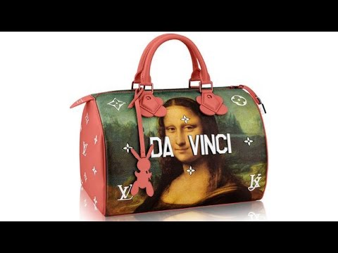 Jeff Koons Interview the Louis Vuitton Mona Lisa Bag with Cate Blanchett and Michelle Williams