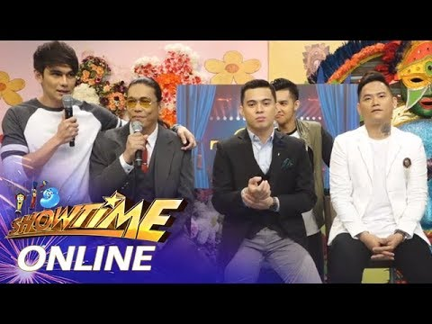 It's Showtime Online:  Semifinalists John, Anton and Mark share what they did during rest day