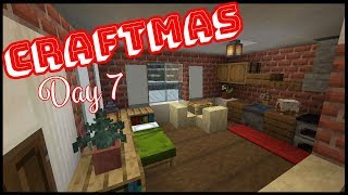 CRAFTMAS DAY 7! - How To Do Our Christmas Village Interiors!