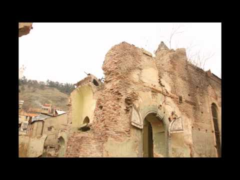 Old Tbilisi - historical Monuments (left-Lost)