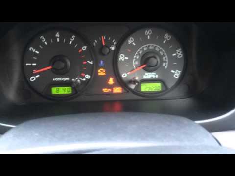 Flashing Check Engine Light >> Kia Picanto engine fault - YouTube