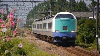 2014年夏 新潟平野を走っていた485系 特急と快速