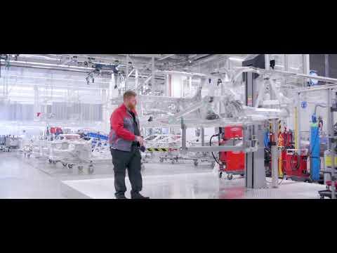 TEASER - Lasergestütze Schweißnahtkontrolle mit Laserprojektoren (Aufbau bei der AUDI Sport GmbH)