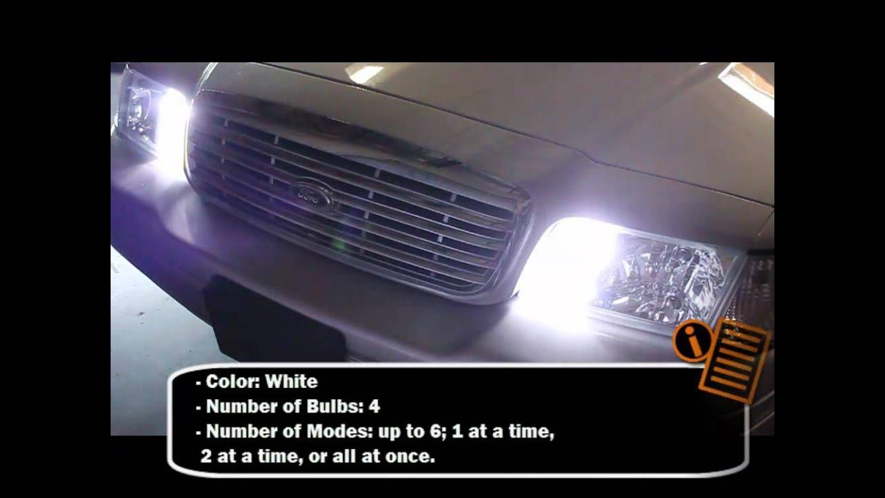 HID Hide-A-Way Strobe Light Kit