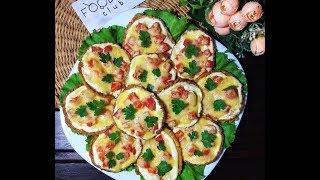 Мини-пицца из кабачков: рецепт от Foodman.club