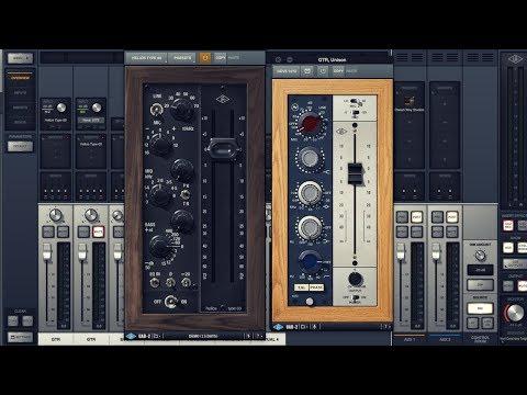 UAD Helios Type 69 vs Neve 1073 - Unison preamp plugins demo