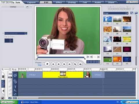 logiciel montage video ulead