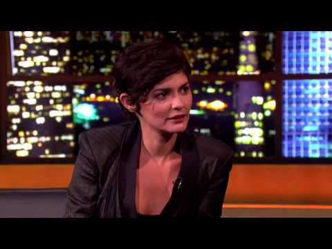 "Audrey Tautou live at the ""Jonathan Ross Show"" (2013) - TV excerpt"
