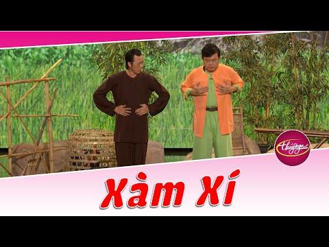 Hoài Linh hướng dẫn Chí Tài vận công để giữ bình tĩnh - hài kịch Xàm Xí