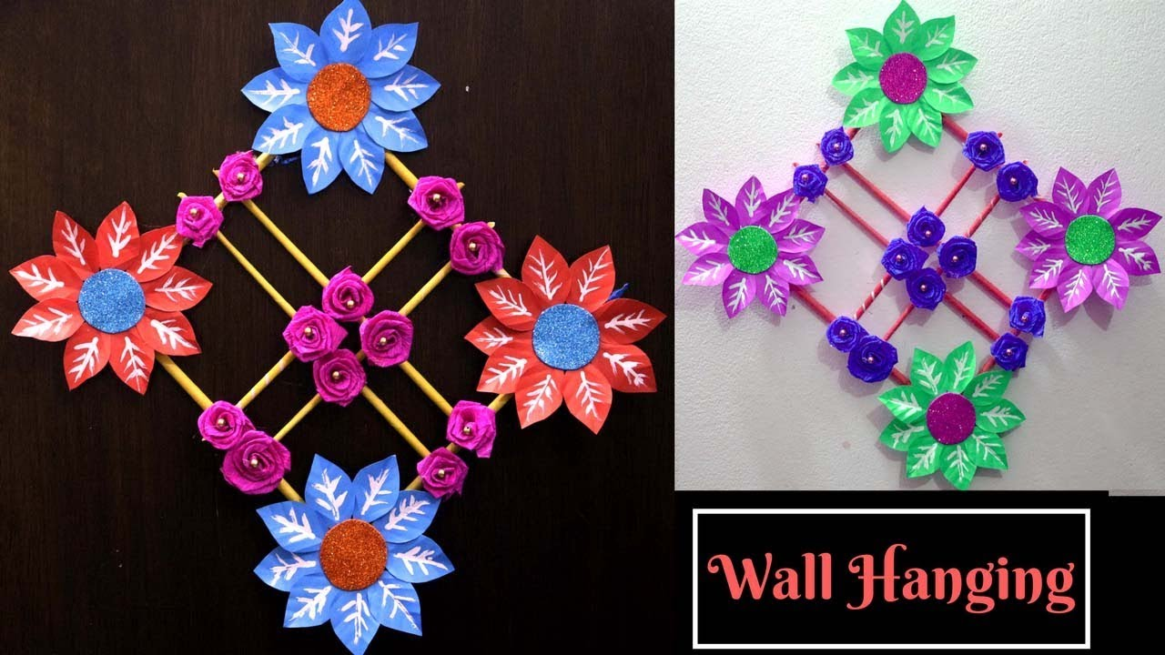 art and craft designs and ideas paper wall hanging ideas handmade wall hanging ideas 7386