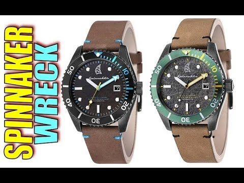 Micro Brand Greatness: Spinnaker Wreck Dive Watch
