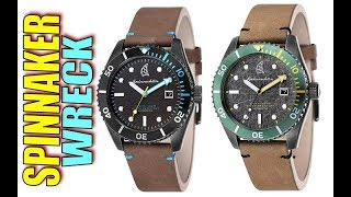 Micro Brand Greatness Spinnaker Wreck Dive Watch