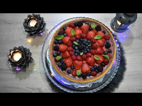 recette-facile-cheesecake-fruits-rouges-وصفة-تشيز-كيك-سهلة