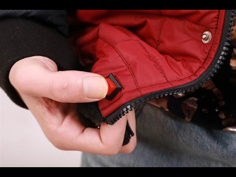 SDJ-01: Back To The Future inspired Self Drying Jacket