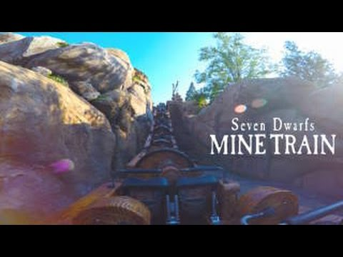 Seven Dwarfs Mine Train EMPTY POV (Magic Kingdom NEW Fantasyland Walt Disney World Resort)