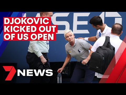Novak Djokovic Disqualified From U S Open For Hitting Line Judge With Ball 2020 Imageproud