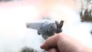 The non jamming percussion Colt revolver