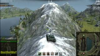 Читерский Заезд на Гору. ШОК на Карте ЛАСВИЛЛЬ World of Tanks