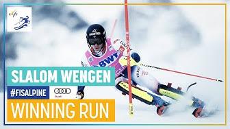 Clement Noel   Men's Slalom   Wengen 2020   FIS Alpine