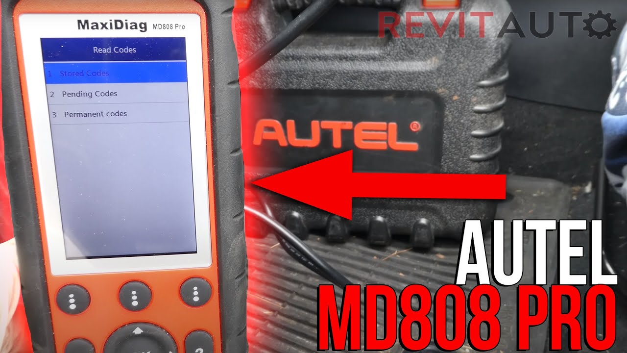 autel md808pro scan tool review youtube. Black Bedroom Furniture Sets. Home Design Ideas