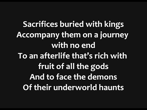 Iron Maiden - The Book of Souls Lyrics