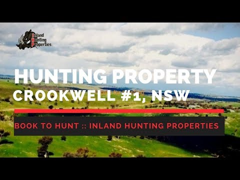CROOKWELL #1 NSW Hunting Property | Inland Hunting Properties Drone Video
