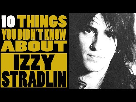 10 Things you didnt know about Izzy Stradlin of Guns N Roses