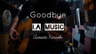 Air Supply - Goodbye | Karaoke Acoustic & Lyrics