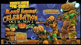 "Borderlands The Pre-sequel: How To Get The Pumpkin Launcher! | ""jack-o-cannon"" (limited Time Offer)"