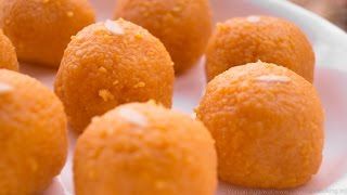 Motichoor Ladoo Recipe | Perfect Motichur Laddus - Indian Sweet | Secrets Revealed