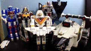 Power Rangers Season 6 Zords Toy Reviews ( Space )