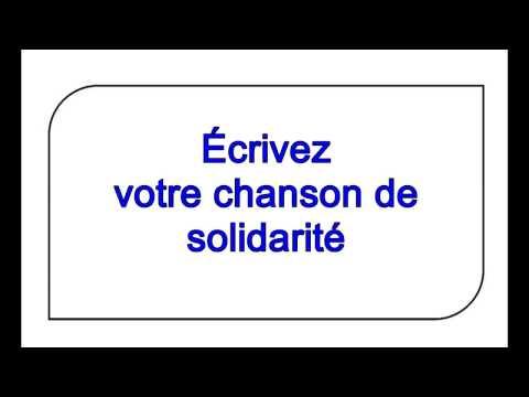 chanson de solidarité