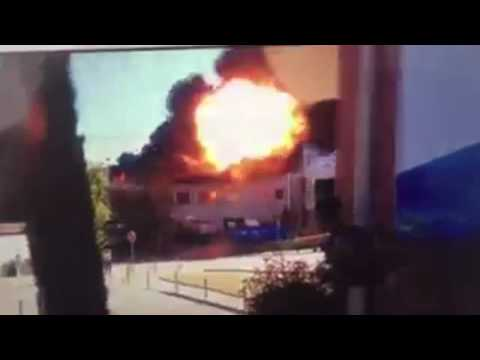VIDEOS  2 blasts, evacuation at hospital in southern France