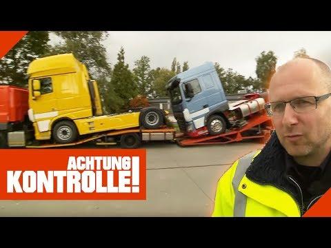 Wettbewerbsvorteil durch illegalen Transport! Weiterfahrt untersagt | Achtung Kontrolle | Kabel Eins