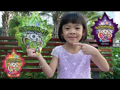 Trò Chơi Ăn Kẹo Nổ Và Ăn Bỏng Ngô Bảy Sắc Cầu Vồng ❤ AnAn ToysReview TV ❤
